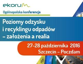 Ogólnopolska konferencja Poziomy odzysku i recyklingu – założenia a realia @ Szczecin | Województwo zachodniopomorskie | Polska