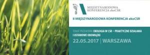 Międzynarodowa Konferencja ekoCSR. M&M Consulting, Warszawa