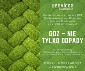 """""""GOZ – NIE TYLKO ODPADY"""", ENVICON Poznań"""
