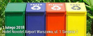 Międzynarodowe Forum Gospodarki Odpadami w Polsce SOS EXPO 2018, ZTM, Warszawa